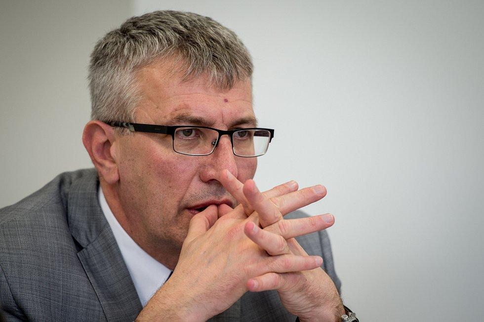 Ředitel Fakultní nemocnice Ostrava MUDr. Jiří Havrlant.