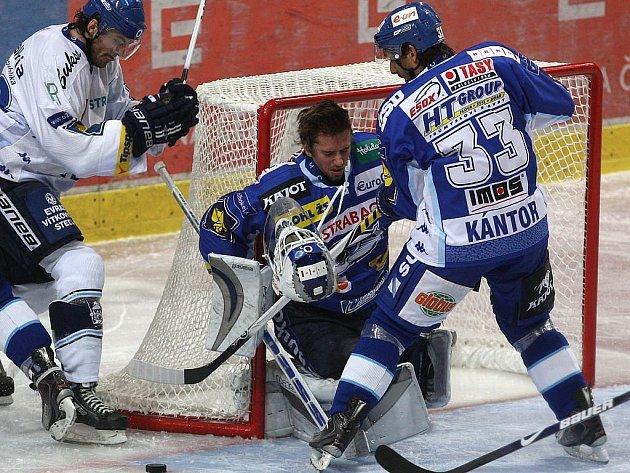Z utkání HC Vítkovice Steel - HC Kometa Brno.