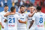 radost, gól, hatrick, Milan Baroš