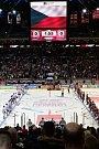 Utkání předkola play off hokejové extraligy - 3. zápas: HC Sparta Praha - HC Vítkovice Ridera, 14. března 2019 v Praze.