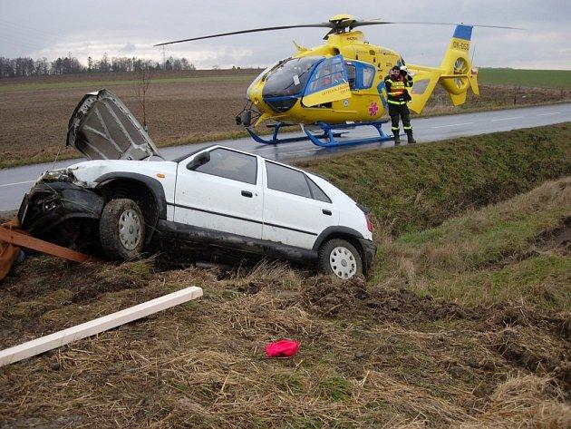 Nehoda u Velké Polomi