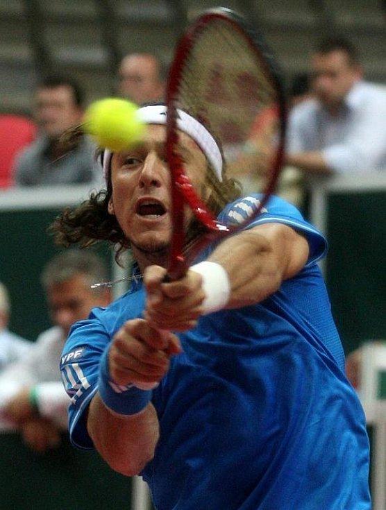 Davis cup 2009 Ostrava, Juan Monaco