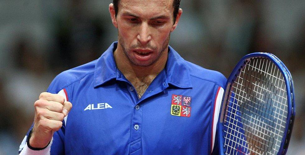 Davis cup 2009 Ostrava, Radek Štěpánek