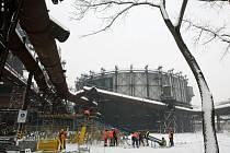 Areál Národní kulturní památky Dolní oblast Vítkovice v Ostravě bude sloužit také sportu. V sobotu se zde uskuteční závody v běhu na lyžích City Cross Sprint Ostrava 2013.