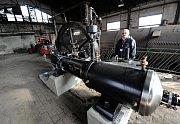 Důl Michal v Ostravě, parní stroj