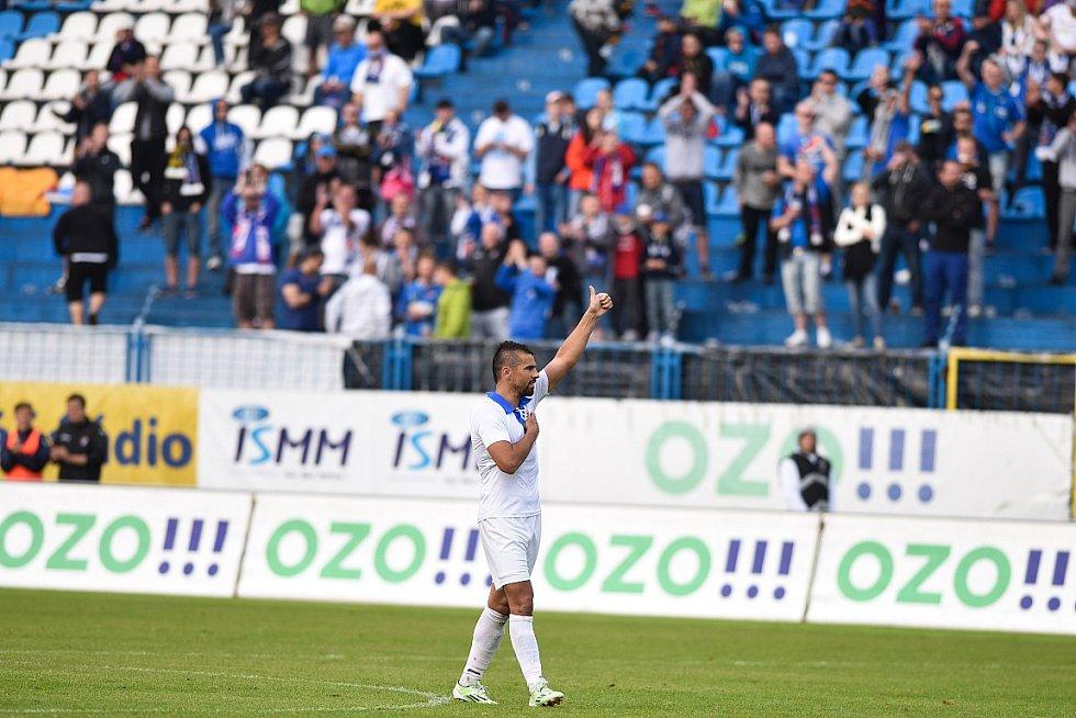 Datum 30. května 2015 a závěrečné utkání sezony s pražskou Duklou se zapíše do historie Baníku jako poslední ligový zápas na Bazalech.