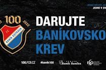 Baník Ostrava, daruj baníkovskou krev (8. 10. 2021).