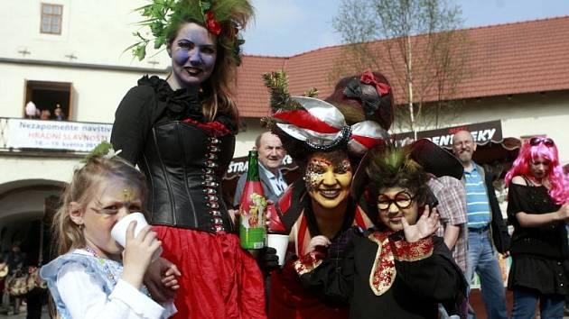 Slet čarodějnic na Slezskoostravském hradě.