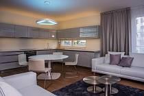 Uzavřená rezidence Nová Karolina nabízí byty od 1+kk až po 4+kk.