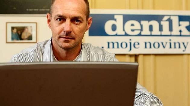 Jaroslav Kovář při on-line rozhovoru