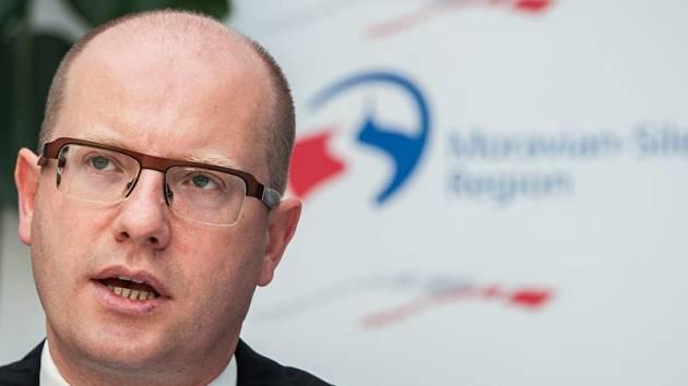 Bohuslav Sobotka navštívil v pondělí 23. června Mošnovské letiště (letiště Leoše Janáčka) aby projednal, podmínky pro nového investora.