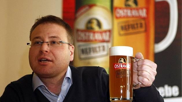 Roman Richter je sedmnáctý sládek ostravského pivovaru.