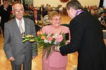 Manželé Hlawiczokovi z Ostravy oslavili kamennou svatbu