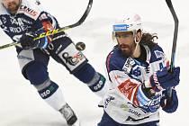 Hokejisté Vítkovic ve druhém utkání série předkola proti Kometě Brno.