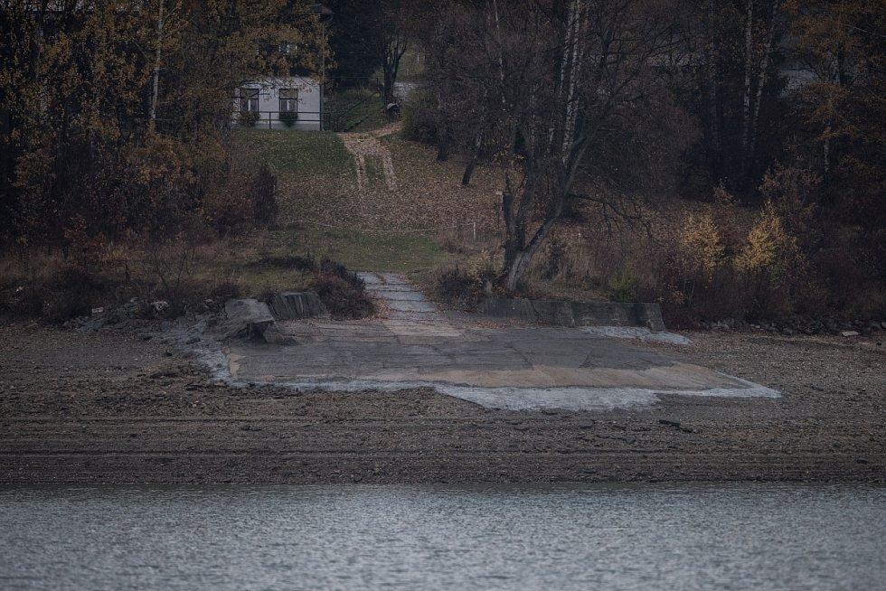 Přehrada Žermanice, listopad 2015.