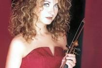 Na koncertu vystoupí i polská houslistka Kristyna Duda
