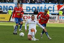 Ze zápasu Viktoria Plzeň vs. Baník Ostrava