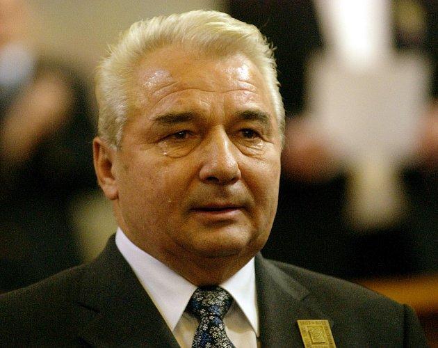 Skokan na lyžích Jiří Raška.