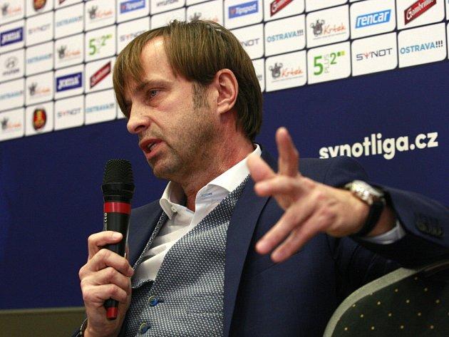 Majitel Baníku Václav Brabec.