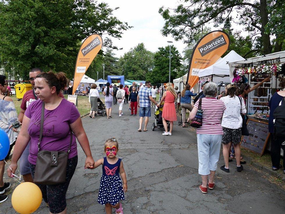 Festival v ulicích v Ostravě, pátek 28. června 2019.