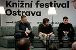 Knižní festival Ostrava na Černé louce, 2. března 2019 v Ostravě.