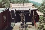 Lanovka z Trojanovic na Pustevny v roce 1980.