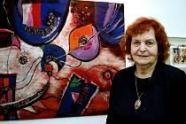 Malířka a grafička Věra Tošenovská.
