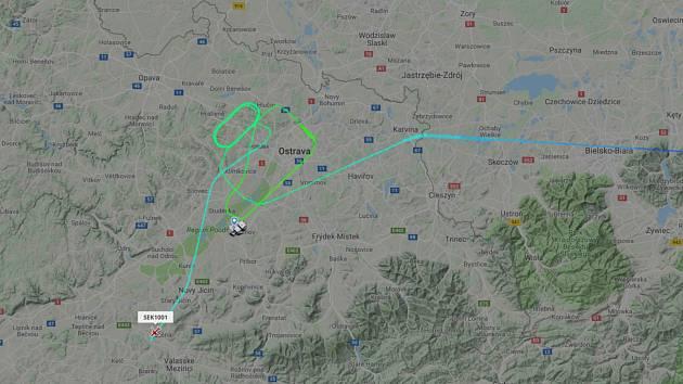 Let z Istanbulu musel po několika vyčkávacích okruzích přistát v Brně.