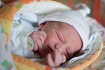 První ostravské miminko - Nikola.