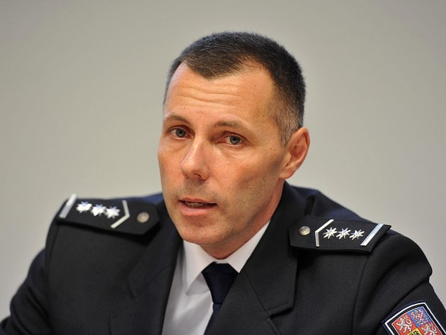Ředitel moravskoslezské policie Tomáš Kužel.