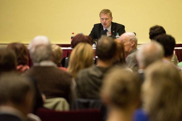 Do Ostravy vpátek zavítal předseda KDU-ČSL, místopředseda vlády pro vědu, výzkum a inovace a poslanec Pavel Bělobrádek.