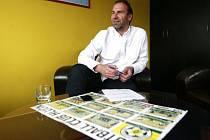 Majitel Hlučína Alan Jančík: Český fotbal potřebuje změnu