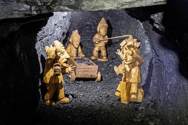 Uměsta Odry se otevřel Flascharův důl, kde se vminulosti těžila břidlice, 9.července 2020.