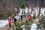 Extrémní vytrvalostní závod LH24 (24 hodin na Lysé hoře), 18. ledna 2020 v Ostravici.