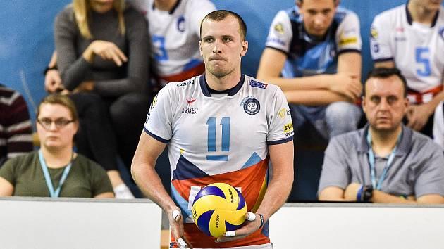 OPORA ODCHÁZÍ. Reprezentační smečař David Janků po pětiletém angažmá ve VK Ostrava mění dres. V nové sezoně bude posilou bronzové Dukly Liberec.