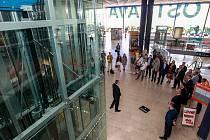 Zahájení provozu nových výtahů na Hlavním nádraží v Ostravě.