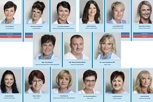 Finalisté soutěže Moravskoslezská SESTRA 2019.