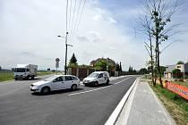 Ulice Kaminského na Dubině je opravena.