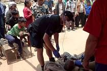 Takto to vypadá v Nepálu, kde pomáhá český trauma tým.