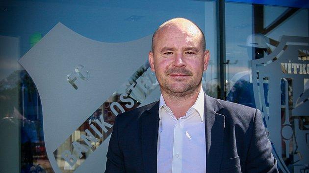 Obchodní a marketingový ředitel FC Baník Ostrava Martin Rak.