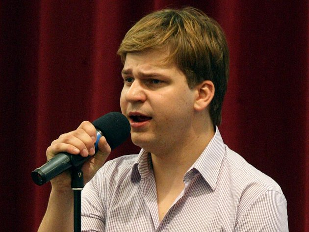 Vítěz soutěže Česko Slovenská SuperStar Martin Chodúr.