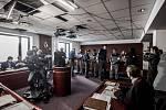 Česká televize pokračuje v natáčení série dokudramat Rozsudek. Ta vychází z příběhů, které se skutečně staly a byly po právu odsouzeny. Díl s názvem Pod betonem se natáčel v neděli 31. ledna u Okresního soudu v Ostravě.