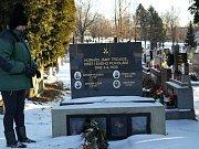 NEJMLADŠÍ. V sedmém hrobě leží oběti poslední hromadné důlní nehody v jámě Trojice z roku 1936.