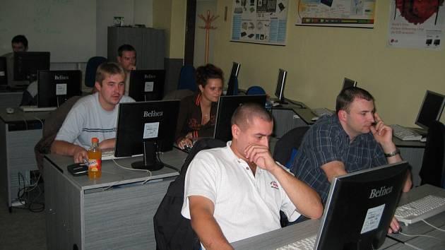 Projekt Integra byl realizován také v počítačovém centru Střední školy ekonomicko-podnikatelské ve Studénce.