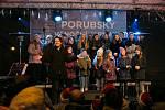 Akce Česko zpívá koledy v Ostravě-Porubě, středa 12. prosince 2018
