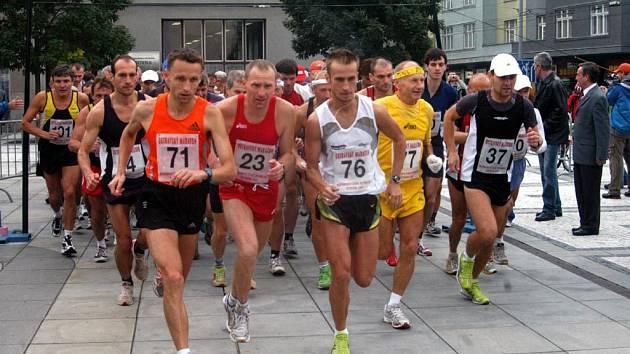 Start Ostravského maratonu