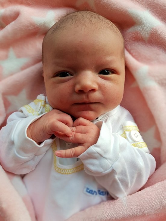 Diana Ricková, Bolatice, narozena 19. července 2021 v Opavě, váha 4020 g, míra 52 cm. Foto: Lucie Dlabolová