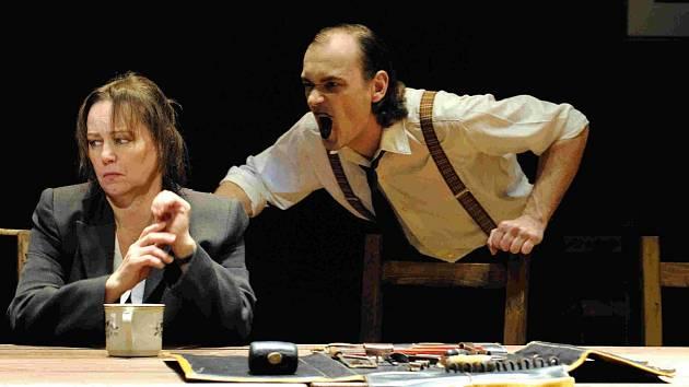 Komorní scéna Aréna: představení S nadějí, i bez ní. na snímku je Alena Sasínová-Polarczyk.
