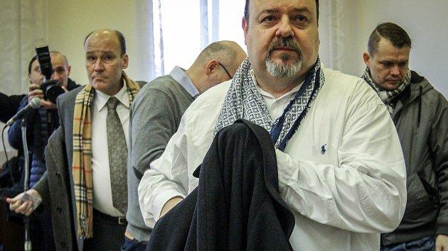 Daneš Zátorský u soudu vinu odmítl. Na fotografii Daneš Zátorský