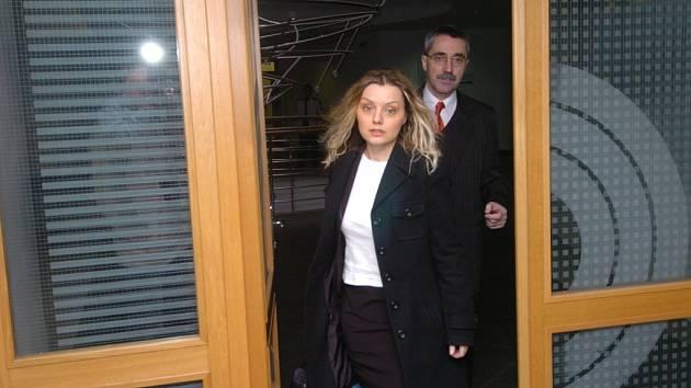Simona Pavlicová u soudu